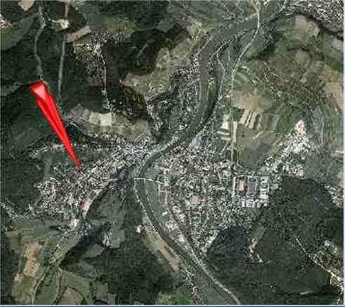 In Saarburg müssen Sie dann in Richtung Krankenhaus fahren,dort ... Eire